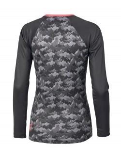camiseta manga larga running femenina