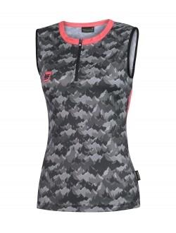 camiseta sin mangas trail running femenina